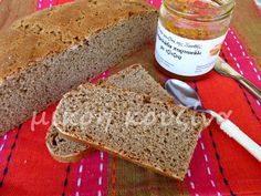 μικρή κουζίνα: Ψωμί με προζύμι από κεφίρ και αλεύρι ζέας Kefir, Banana Bread, Desserts, Food, Deserts, Dessert, Meals, Yemek, Postres