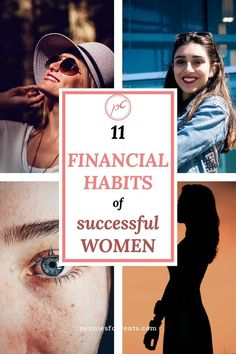 Let's talk about the financial habits of successful women. They have a lot of good habits in common. They are super important and easy to form. Promise. Find out for yourself Financial Literacy, Financial Goals, Best Budgeting Tools, Household Budget, Get Out Of Debt, Early Retirement, Good Habits, Successful Women, How To Get Rich