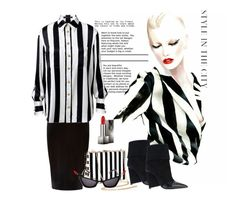 """""""Untitled #474"""" by susans-sg ❤ liked on Polyvore featuring Alain Tondowski, River Island, Moschino, Burberry and Balmain"""
