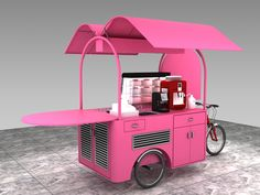 Best Carpet For Boat Runners Coffee Carts, Coffee Truck, Coffee Shop, Bike Coffee, Mobile Coffee Cart, Mobile Food Cart, Food Cart Design, Food Truck Design, Food Trucks