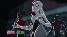 First Spider-Gwen Footage Debuts in ULTIMATE SPIDER-MAN Series Clip — GeekTyrant