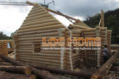 Galerie foto case si cabane din lemn rotund - LOG HOME Vatra Dornei, Suceava Design Case, Log Homes, Paris, Wood, Timber Homes, Montmartre Paris, Woodwind Instrument, Wood Homes, Timber Wood