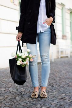 Trench, Blouse, Skinny Jeans   Not Your Standard