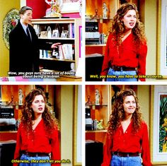 """29 Of The Most Perfect Comebacks That Ever Happened On """"Friends"""""""