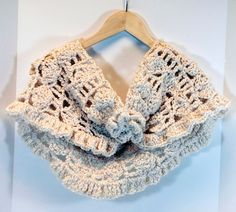 Infinity scarf/shawl Crocheted