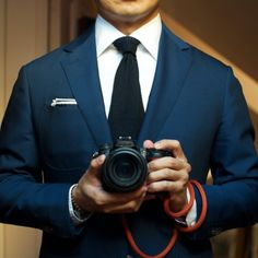 Monday RAF Blue - Close & Personal Details: Suit - MTM P Johnson, Shirt - Bespoke Ascot Chang, Tie - Drakes, PS - Herringbone, Hoofs - &...