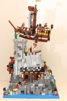 Pirate Island by globe2000 on Brickshelf