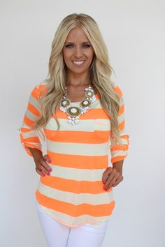 Lime Lush Boutique - Neon Striped Boat Neck Top, $32.99 (http://www.limelush.com/neon-striped-boat-neck-top/)