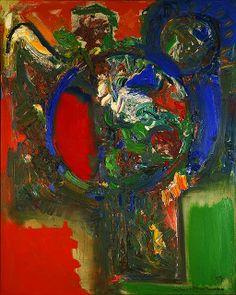 Hans Hofmann / The Bouquet / 1959 / oil on canvas