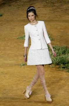 THE White Chanel Suit that Jeanine covets...