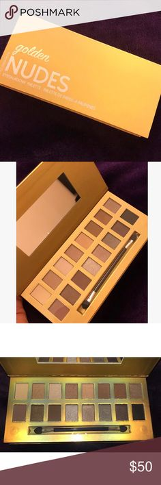 BRAND NEW ! Eyeshadow Palette Brand new eyeshadow palette 🔹 Still has the clear on top of the palette meaning no one has touched it 🔹 Nude colors ❣️ Makeup Eyeshadow