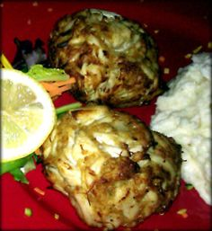 Crabcakes at Mother's Grille yum