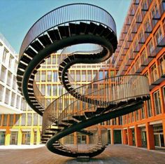 Stairway to nowhere