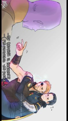 Purple ... XD || Thor Loki & Thanos || The Avengers: Infinity War || Cr: ℒɐızʎ ArTz!