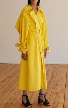 Cotton Gabardine Trench Coat by EDUN  for Preorder on Moda Operandi