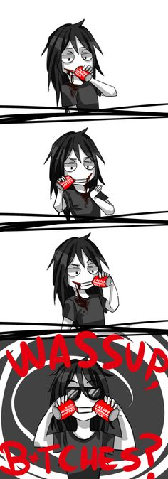 The only way jeff can drink soda xD