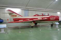 August 1st Aerobatic Team - Chengdu JJ-5 - PLAAF - China Air Force at Chinese Aviation Museum