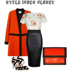 """""""Floral Crop Top Outfit No 13"""" by styleiconscloset on Polyvore"""