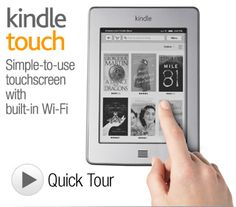 Kindle Touch~ my new addiction