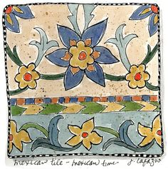 mexican tile mexican time | Flickr - Photo Sharing!