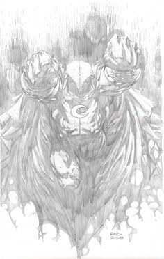 Moon Knight by David Finch (Marvel comics) Comic Book Artists, Comic Artist, Comic Books Art, Pencil Drawings, Art Drawings, Joker Drawings, Pencil Art, Easy Nature Drawings, David Finch