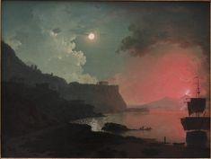Vesuvius from Posillipo - Joseph Wright