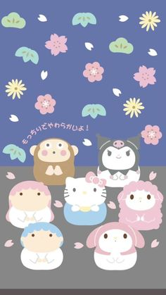 Cute Laptop Wallpaper, Hello Kitty Iphone Wallpaper, Sanrio Wallpaper, Cute Pastel Wallpaper, Kawaii Wallpaper, Aesthetic Iphone Wallpaper, Hello Kitty Characters, Sanrio Characters, Cute Characters