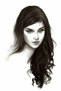Powerful portrait > The Heart's Confession by Jace-Wallace female face - pencil - drawings Throne Of Glass, Character Inspiration, Character Art, Character Concept, Yennefer Of Vengerberg, Sarah J Maas, Portraits, Makeup Art, Beauty Makeup