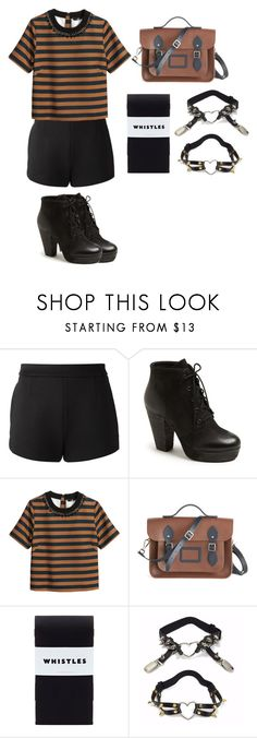 """Untitled #455"" by girlwithherheadintheclouds ❤ liked on Polyvore featuring T By Alexander Wang, Steve Madden, H&M and The Cambridge Satchel Company"