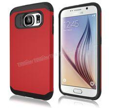 Samsung Galaxy S6 Çift Katmanlı Rubber Kılıf Kırmızı -  - Price : TL21.90. Buy now at http://www.teleplus.com.tr/index.php/samsung-galaxy-s6-cift-katmanli-rubber-kilif-kirmizi.html