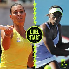 #20-Seed Flavia Pennetta won the #DuelInTheDesert v #17-Seed Sloane Stephens.  Flavia upset Sloane with a 6-4 victory in the deciding set. The Italian has had a remarkable 10 months and will return to the top 20 a year after considering retirement as she battled to rediscover her form after wrist surgery. 3/13/14