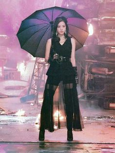 Kim Jisoo Ddu-du-ddu-du behind the scene Blackpink Jisoo, Kpop Girl Groups, Korean Girl Groups, Kpop Girls, Blackpink Jennie, Stage Outfits, Kpop Outfits, Black Pink ジス, Mode Kawaii