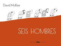 """Spanisches Bilderbuch """"Seis Hombres"""" von David McKee – mundo azul"""