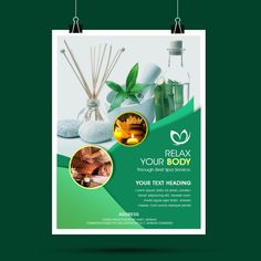 Spa Poster, Green Spa Poster, Spa Mock, Spa Banner, Spa Creative, Spa Outdoor Advertisement,Spa Flyer Psd Spa Design, Massage Images, Reiki, The Menu, Beauty Life Hacks Videos, Spa Packages, Outdoor Spa, Magazine Layout Design, Cosmetic Design