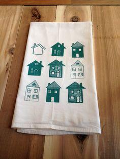 Houses Kitchen Towel