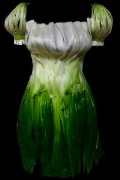 Spring onion dress