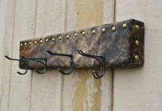 Western Hat Rack Coat Hanger Cowboy decor by CountryBugCrafts