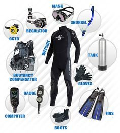 Here's is how you should take care of your scuba dive equipment.