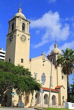 Cathedral, Corpus Christi, Texas, United States of America, North America