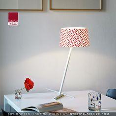 Slant Table Lamp - Serien Lighting  Shop Online http://www.interior-deluxe.com/slant-table-lamp-p10188.html  #ModernLighting #InteriorDesign #SerienLighting