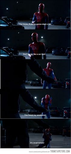 oh spiderman, you make me laugh. I love Andrew Garfield as Spiderman but I loved James Franco as Harry Osborne. Oh god I'm so torn! Dc Movies, Good Movies, Movie Tv, Funny Shit, The Funny, Hilarious, Lmfao Funny, Funny Humor, Funny Stuff
