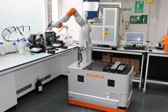 Medical Robots, Autonomous Robots, Industrial Robotic Arm, University Of Liverpool, Robotic Automation, Modern Tech, Phd Student, Lab Equipment, Robot Arm