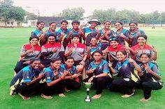 दो रन पर आउट हुई नागालैंड महिला टीम