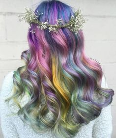 Cheveux sirène
