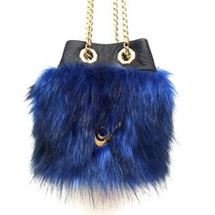 Nº 201 mini Blue Fur