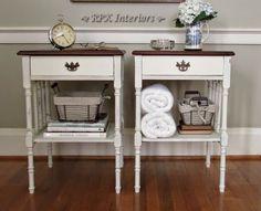 RPK Interiors: Vintage Side Tables