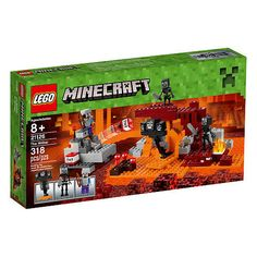 LEGO Minecraft: The Wither Boss (He'd like any Minecraft Legos! Minecraft Toys, Cool Minecraft Houses, Creeper Minecraft, Minecraft Crafts, Minecraft Furniture, Minecraft Buildings, Minecraft Bedding, Minecraft Awesome, Minecraft Ideas