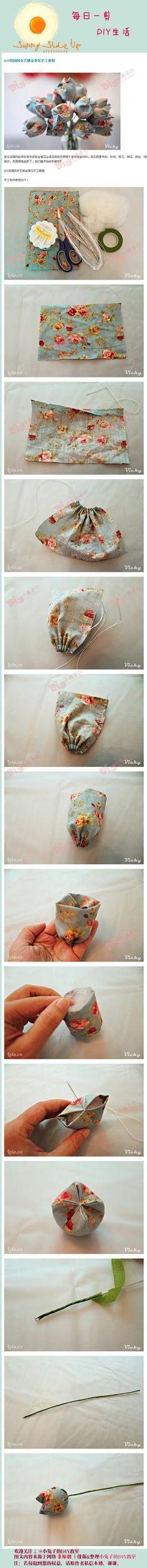 DIY Fabric Tulip Flower