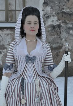 Before the Automobile-hooded polonaise