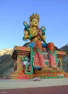 Krishna Bhagwan, Cold Deserts, Ladakh India, Maitreya Buddha, Beautiful Places To Visit, Mongolia, Travel Agency, Tibet, Travel Guides